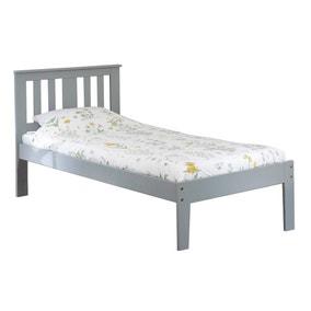 Kingston Grey Pine Bed Frame