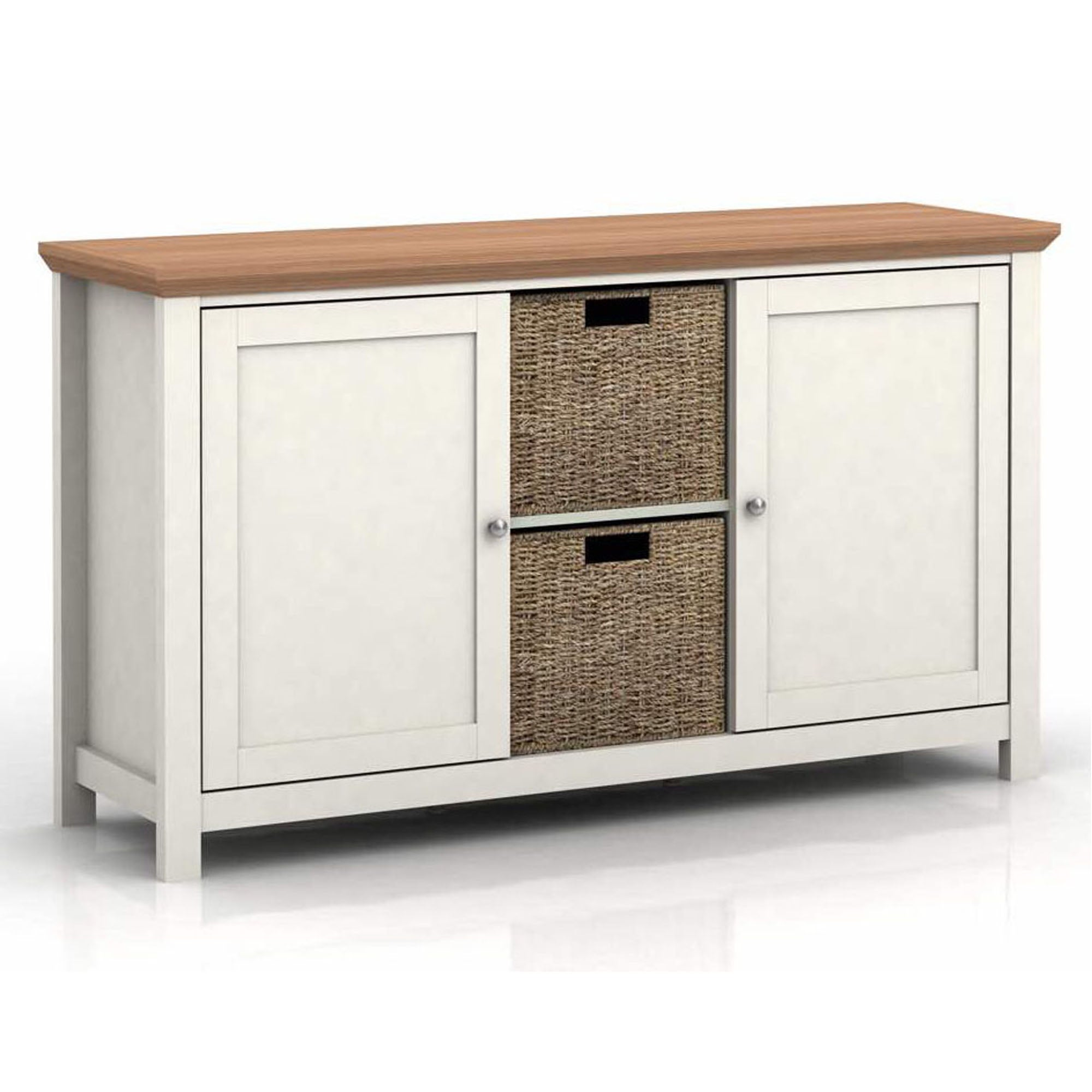 Cotswold Cream Sideboard Cream and Brown