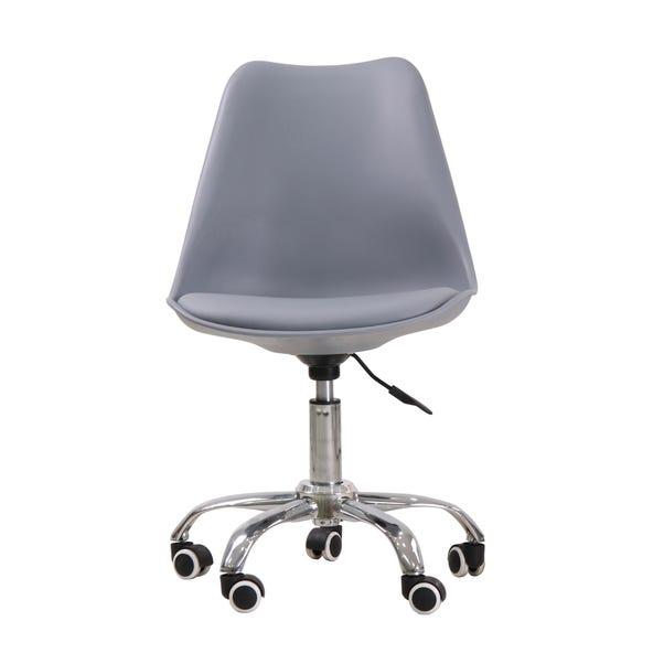 Orsen Swivel Office Chair Grey