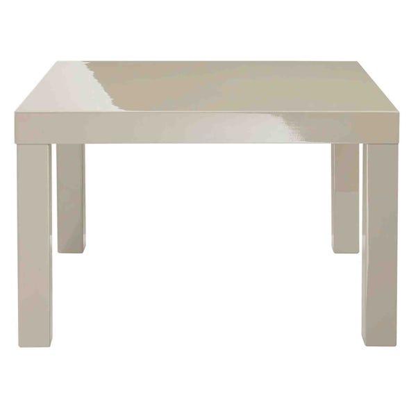 Puro Gloss End Table Natural