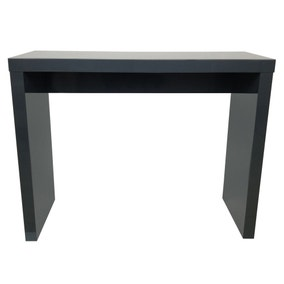 Puro Wooden High Gloss Grey Console Table