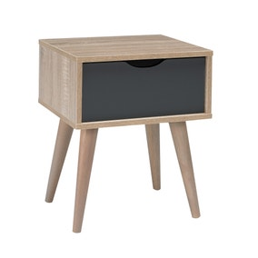 Scandi Grey End Table