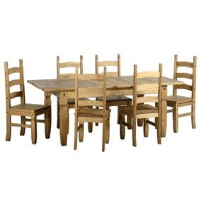 Corona Extending 6 Seater Dining Set