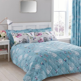 Heavenly Hummingbird Bedspread
