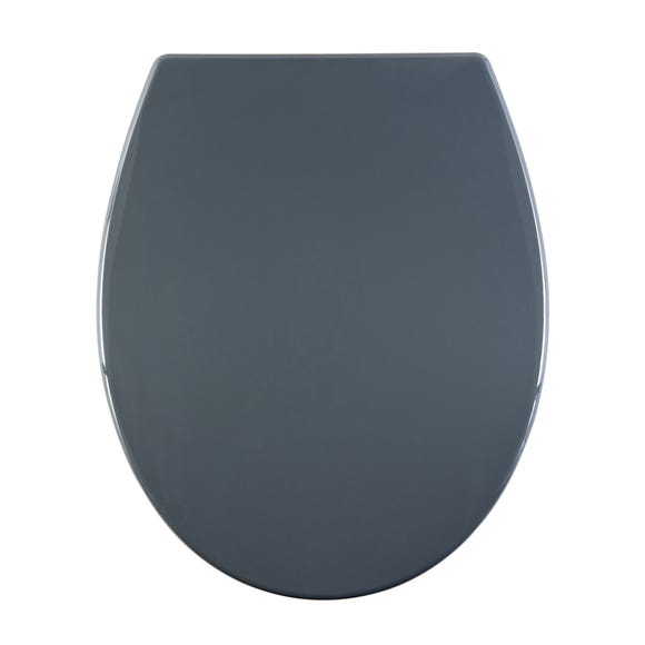 Thermoplast Grey Toilet Seat Grey