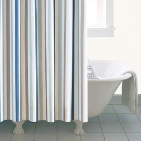 Nautical Bold Stripe XL Shower Curtain