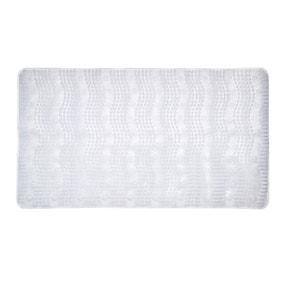 Comfort Waves Clear Bath Mat