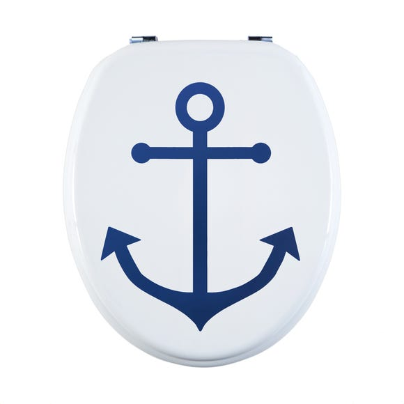 Anchor MDF Toilet Seat Blue