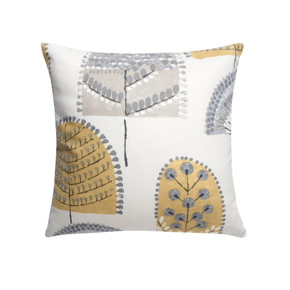 Nordic Trees Cushion Cover Ochre undefined