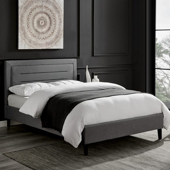 Picasso Grey Bed Frame Grey undefined