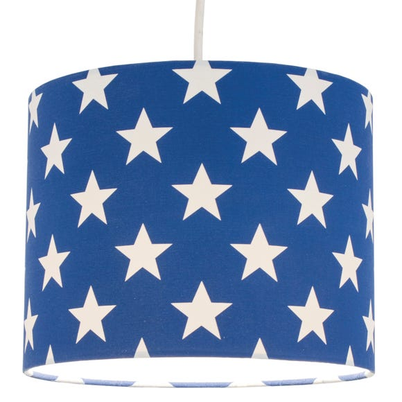 Blue Star Pendant Shade Blue