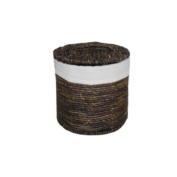 Voyager Small Storage Basket Brown