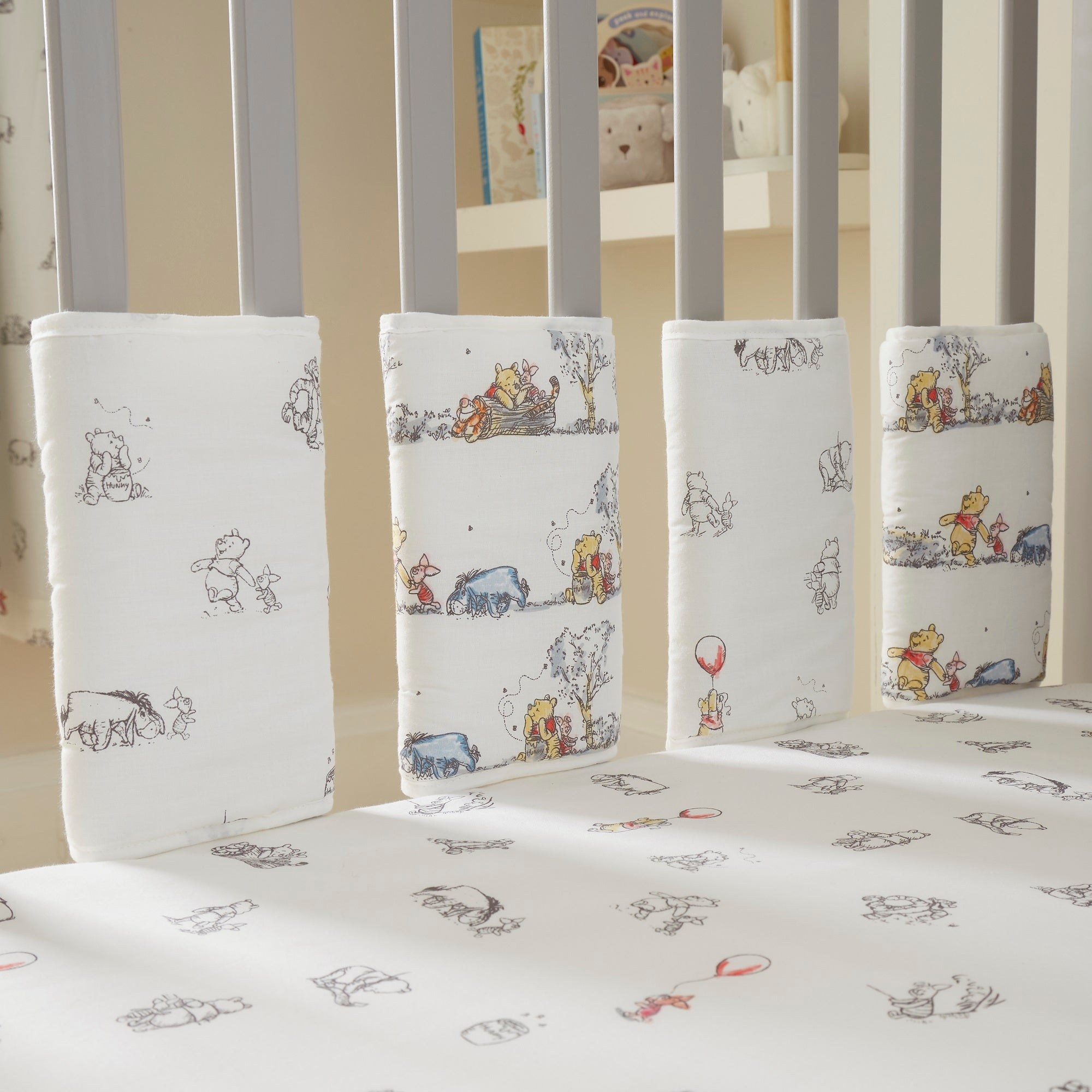 Photo of Disney winnie the pooh bumper bars cream