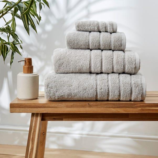 Soft Grey Ultimate Towel Grey undefined