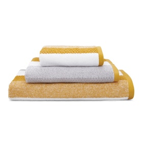 Elements Stripe Ochre Towel