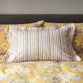 Ashbourne Ochre Oxford Pillowcase
