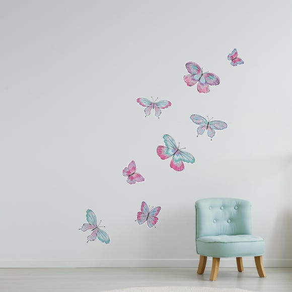 Butterfly Wall Stickers Pink