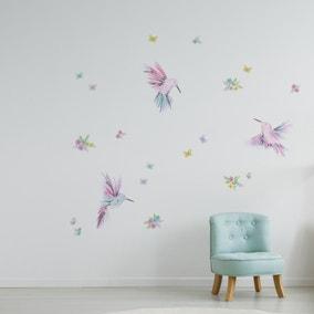Little Hummingbirds Wall Stickers
