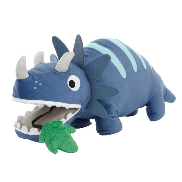 Dinosaur Plush Blue