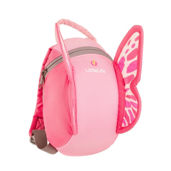 Animal Toddler Backpack Butterfly Pink