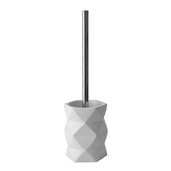 Elements Geo Toilet Brush White