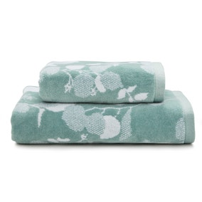 Eucalyptus Shadow Seafoam Towel
