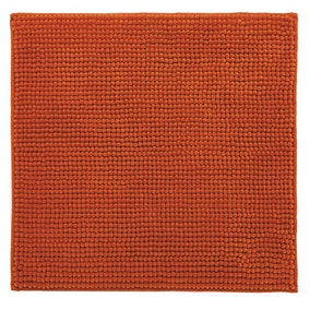 Elements Mini Bobble Paprika Shower Mat