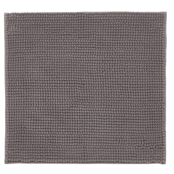Elements Mini Bobble Grey Shower Mat