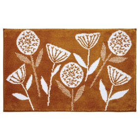 Elements Emmott Bath Mat Ochre