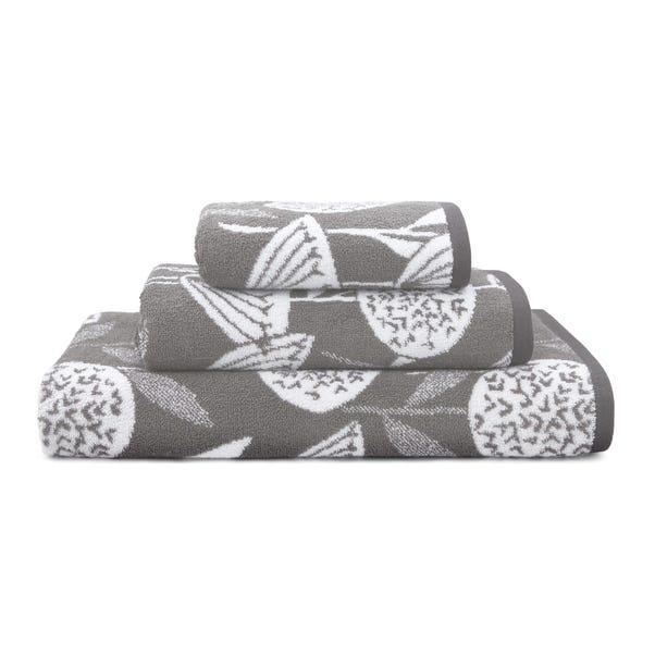 Elements Emmott Grey Towel  undefined