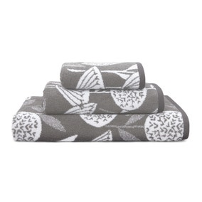 Elements Emmott Grey Towel