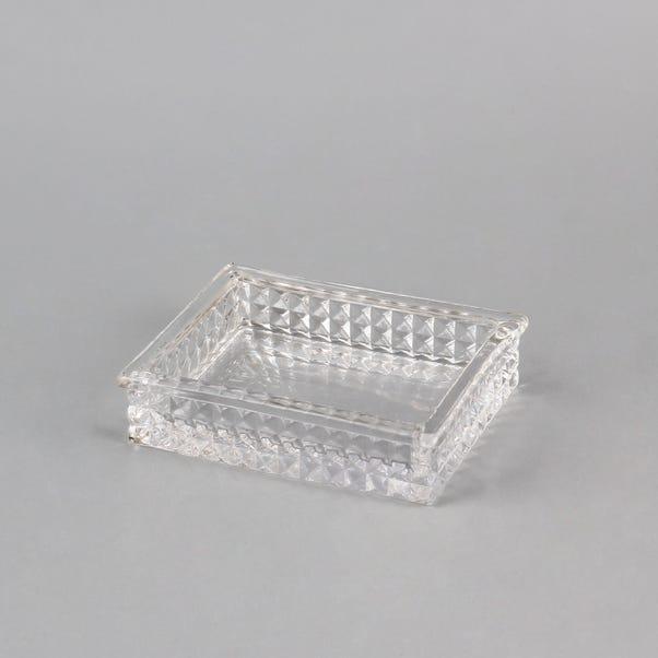 Dorma Glass Soap Dish Clear