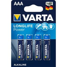 Varta High Energy Four AAA Batteries