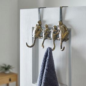 Monkey Overdoor Hooks