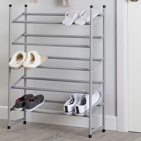 5 Tier Extendable Shoe Rack