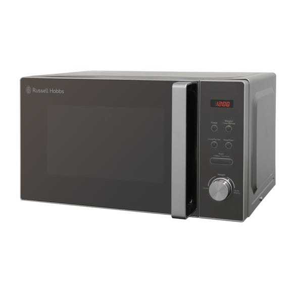Russell Hobbs 800W 20L Silver Microwave Silver
