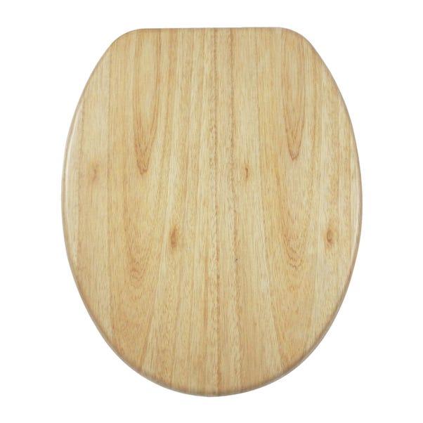 Wooden Veneer Toilet Seat Natural