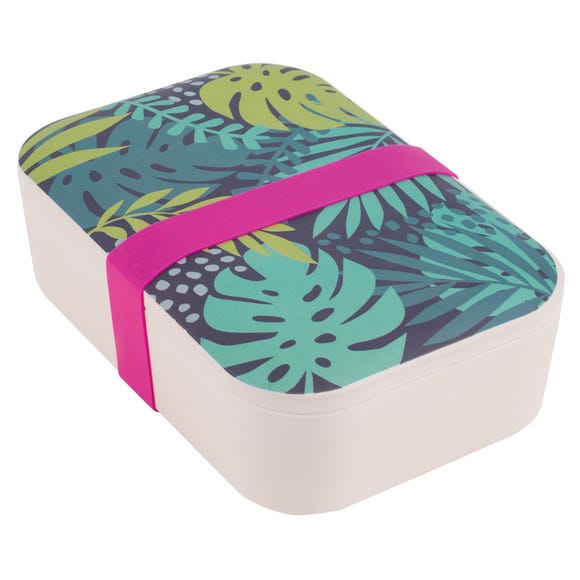 Bamboo Botanical Lunch Box MultiColoured
