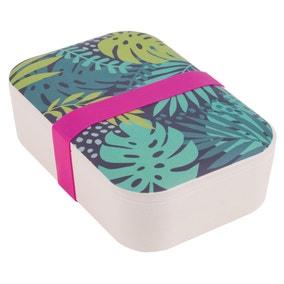 Bamboo Botanical Lunch Box