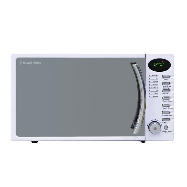 Russell Hobbs 17L 700W White Digital Microwave RHM1714WC White