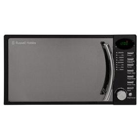 Russell Hobbs 17L 700W Black Digital Microwave RHM1714BC