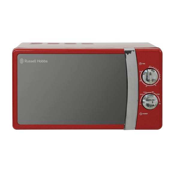 Russell Hobbs Colours 700W 17L Red Manual Microwave Red