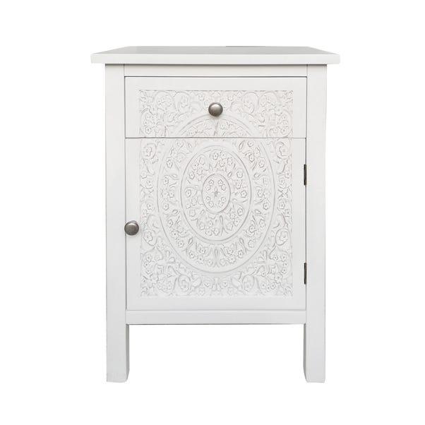Samira Small Cabinet White