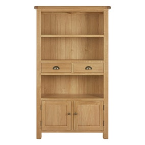 Sherbourne Oak Tall Cabinet