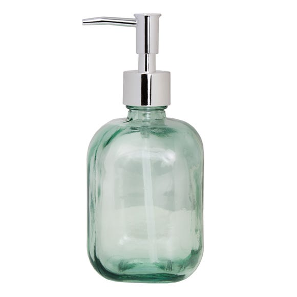 Recycled Glass Lotion Dispenser Clear