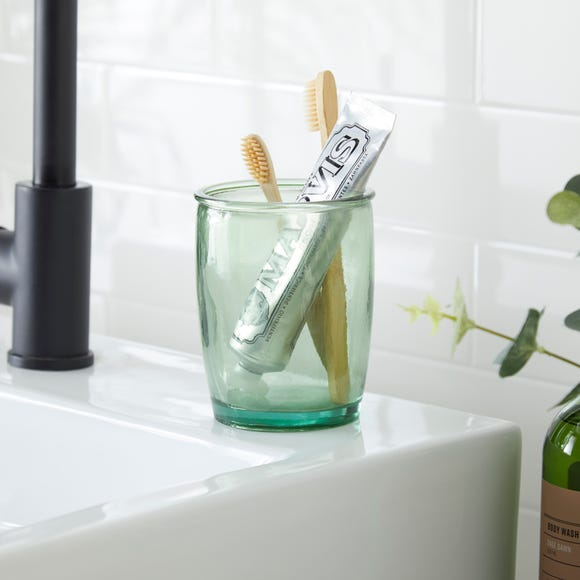Recycled Glass Tumbler Clear