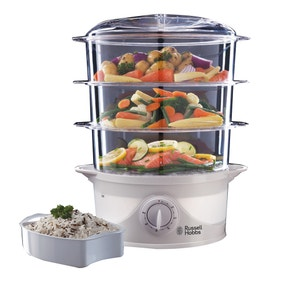 Russell Hobbs Food Collection 3 Tier Food Steamer