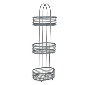 3 Tier Grey Storage Caddy