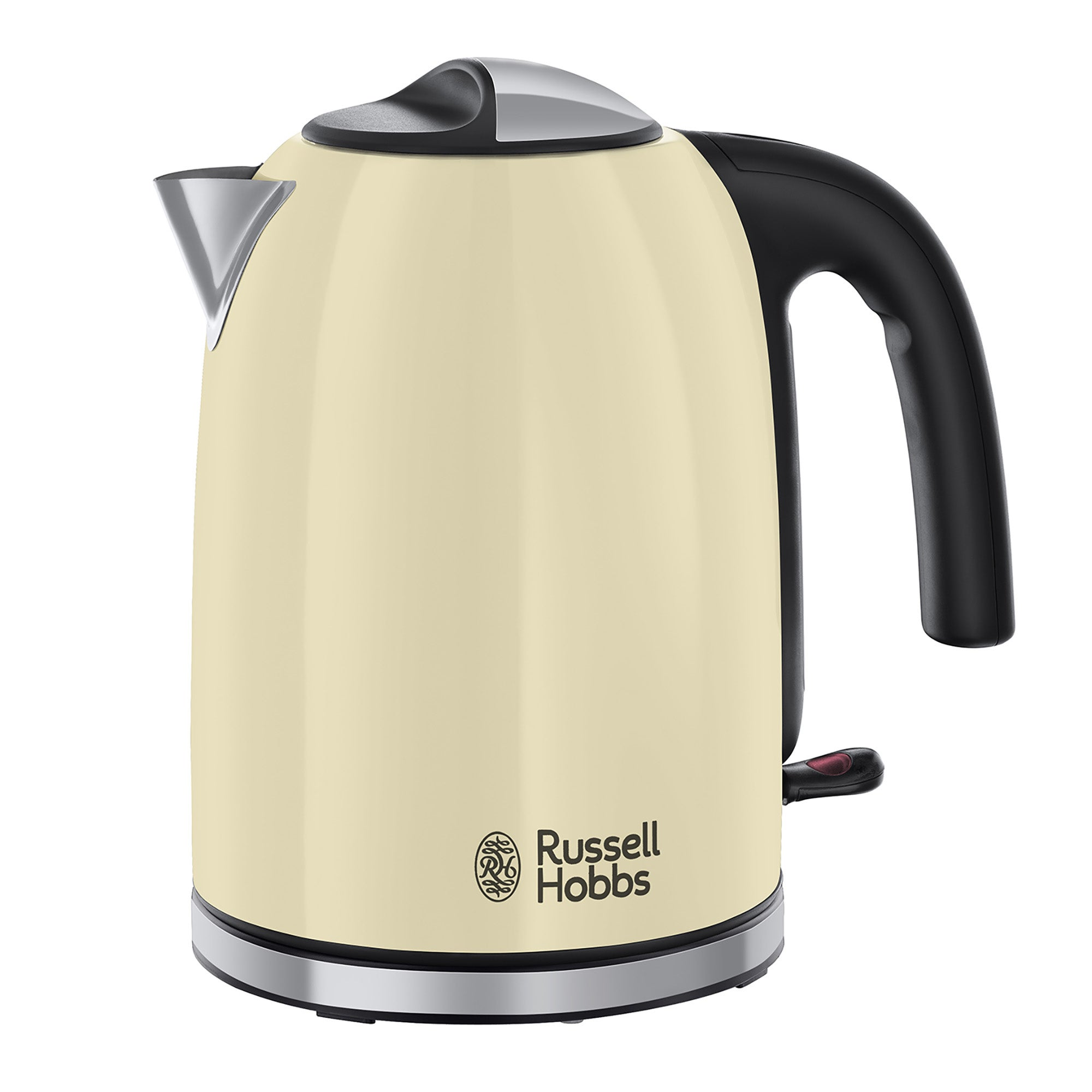 Click to view product details and reviews for Russell Hobbs Colours Plus 17l Cream Kettle Cream And Silver.
