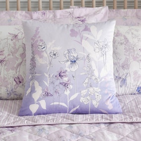 Iris Mauve Cushion
